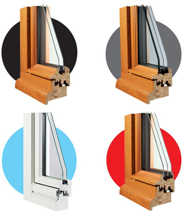 angles inova - Fenêtres bois et mixte