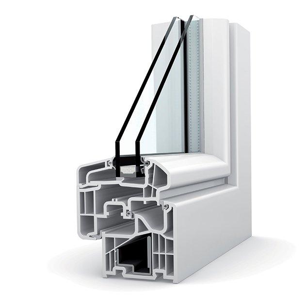 fenetre pvc double vitrage kf 310 ambiente - Fenêtres PVC