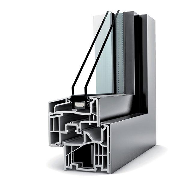 fenetre pvc double vitrage kf 310 home pure - Fenêtres PVC